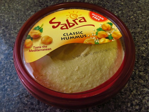  La sabra hummus dip