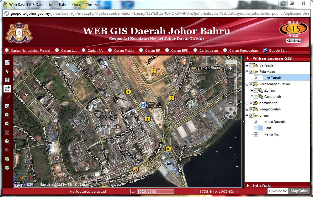 A Geoportal for Development Plan in Malaysia | Geo information and