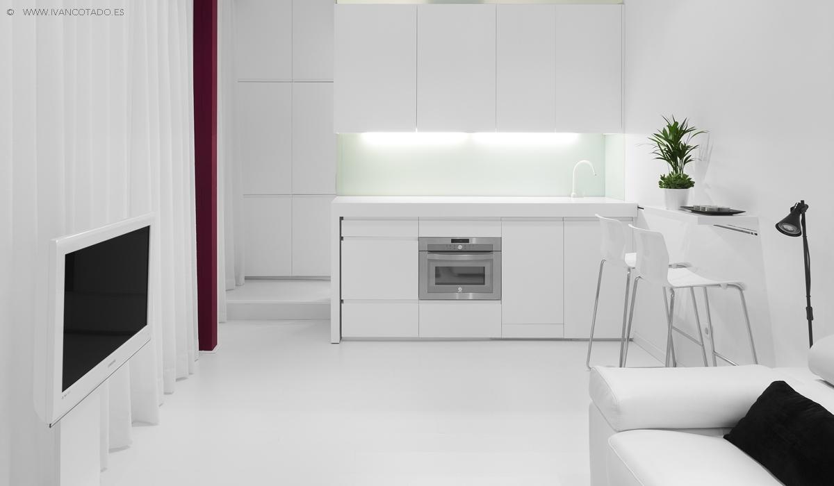 Tendencias en decoraci n peque os apartamentos muy amplios for Colores para apartamentos pequenos