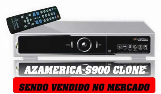 Azamerica s900 clone sendo vendido no mercado