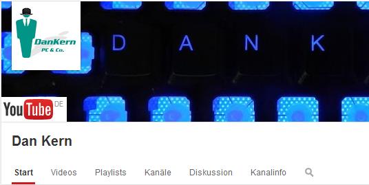 Mein YouTube-Channel