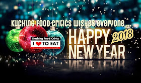 "Kuching Food Critics wishes everyone ""Happy New Year"""