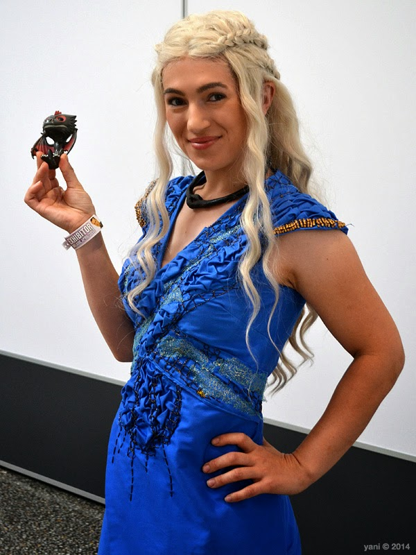 oz comic-con adelaide - daenerys targaryen