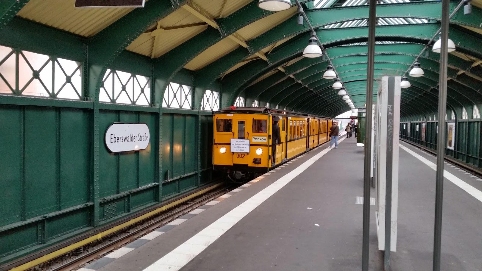 Museum U Bahn Oldtimer Im Untergrund Bloß Keine