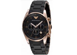 Gajabo.com : Buy Emporio Armani AR5905 Silicon Chronograph Stainless Steel Watch, worth Rs. 15990 at Rs. 2799 Only – Buytoearn