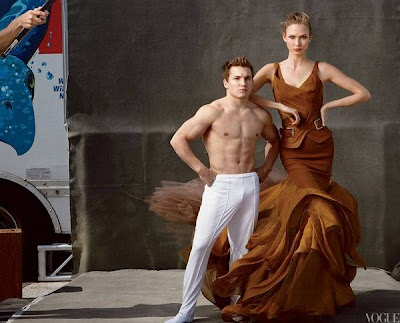 American Olympic team star for Vogue