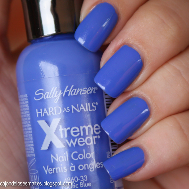 swatch sally hansen pacific blue