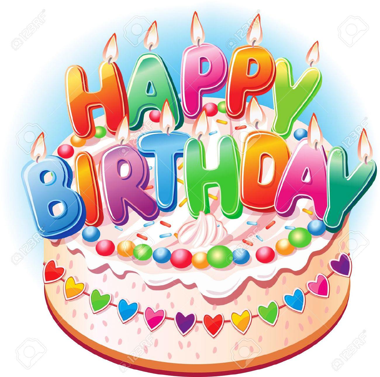 foto birthday cake