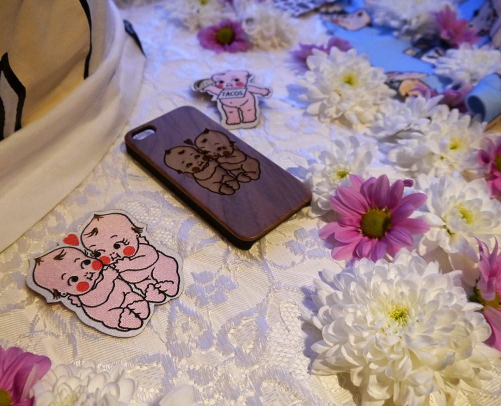 Abandon Ship Apparel, Kewpie collection, Kewpie Party, Glasgow, DIY Nails, Scottish Bloggers, Kewpie patches, Kewpie iPhone case