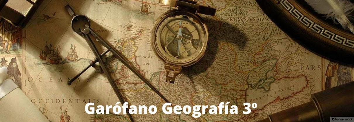 Garófano Geografía 3º