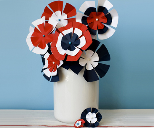 Beautiful Paper Flowers Pictures