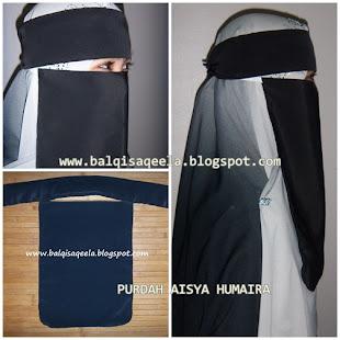 PURDAH ARAB (AISYA HUMAIRA 2 IN 1)- BERMINAT SMS : 0142935716