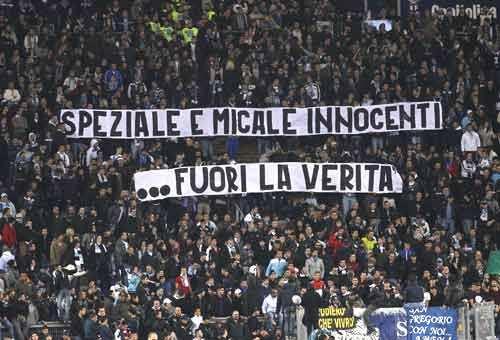 Le Mouvement en Italie . - Page 9 Striscione-lazio