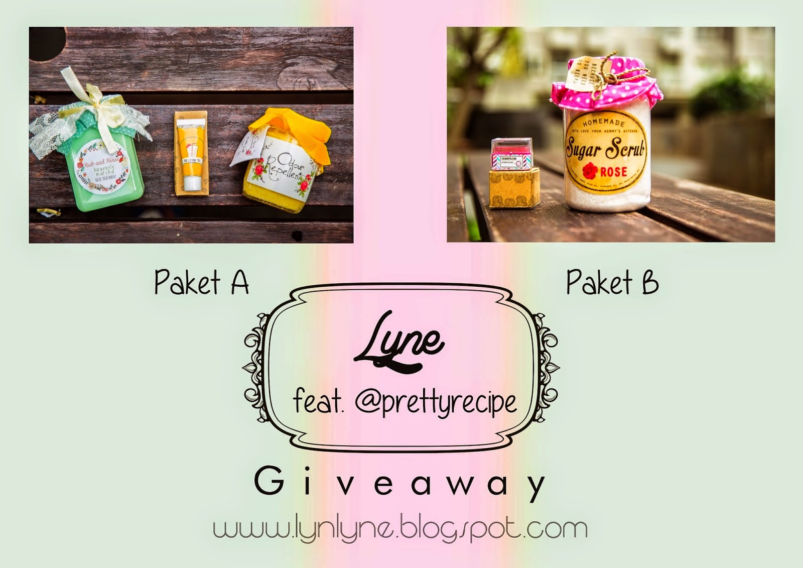 LYNE feat. PRETTY RECIPE's Giveaway