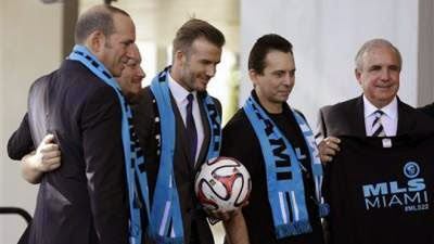 Beckham franchise offers opportunity to Spurs