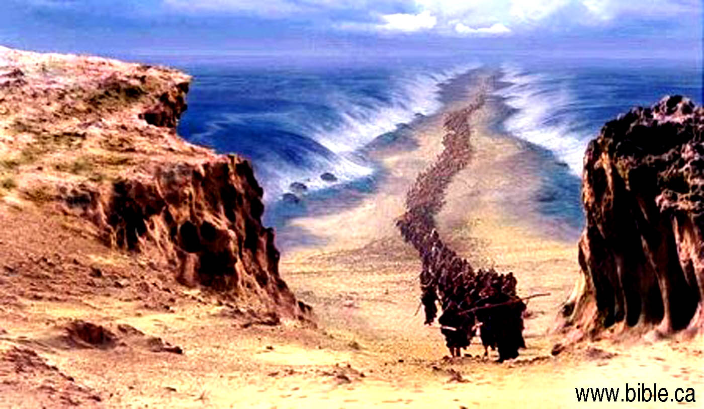 Bible Event : Crossing the Red Sea