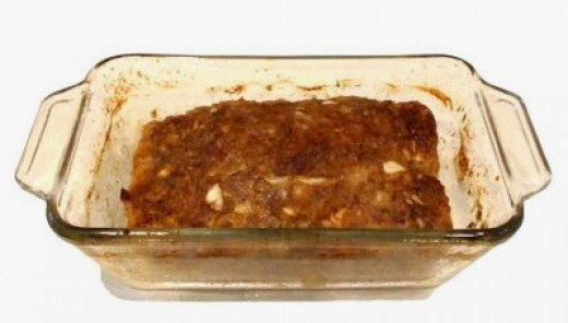 My Meatloaf Hot Out of the Oven