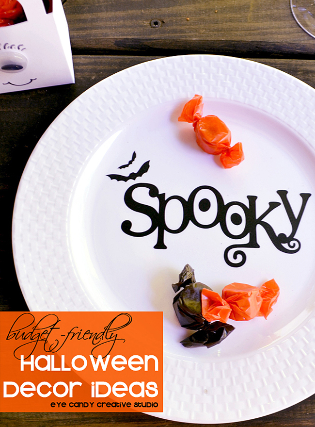 budget friendly halloween decor ideas, decorating for halloween, spooky
