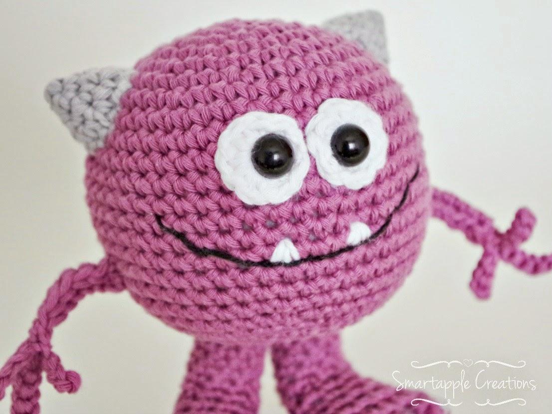 Amigurumi Monster Zeitschrift : Smartapple Creations - amigurumi and crochet: Huggy monsters