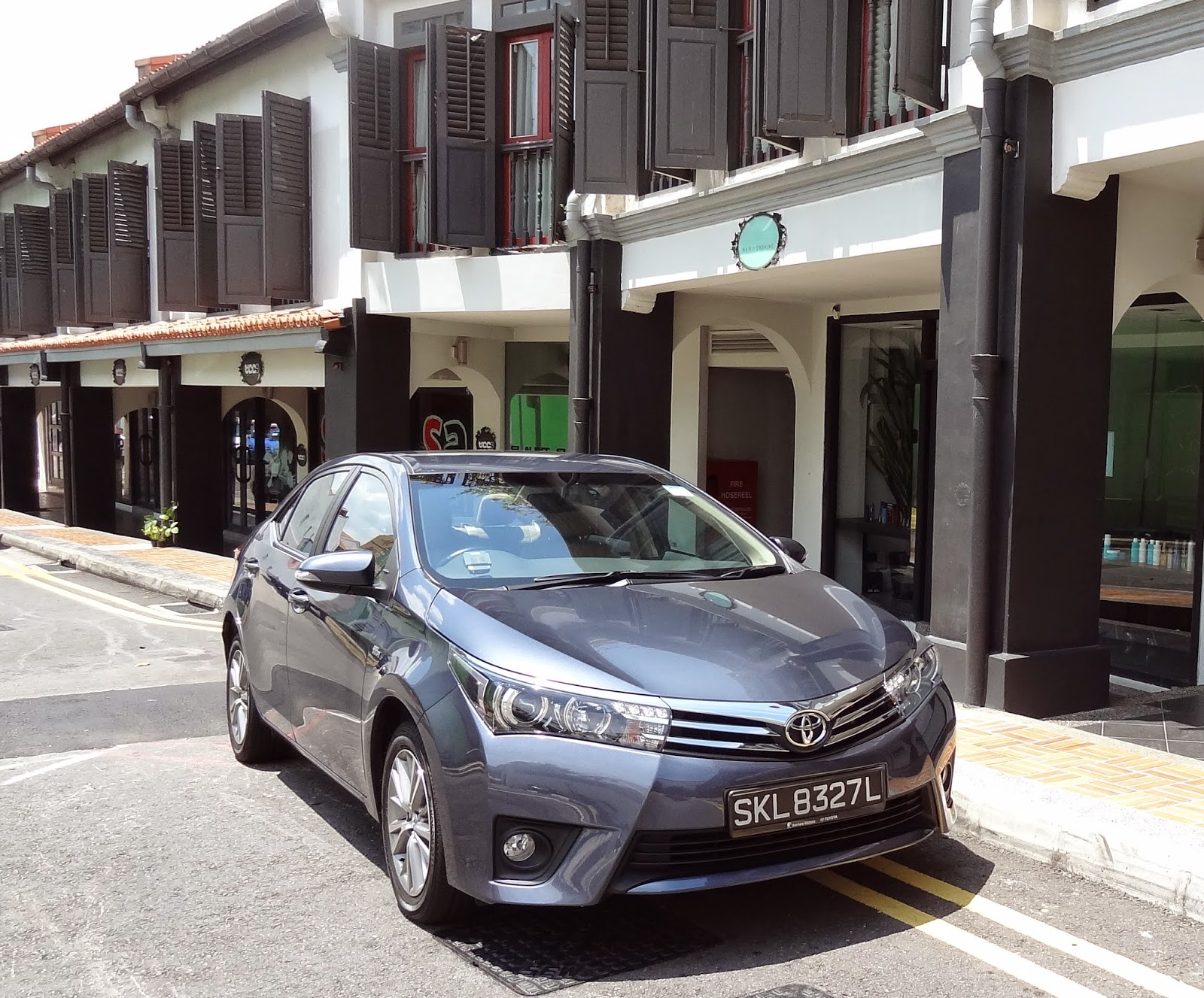 The all new toyota corolla altis a legend redefined car review