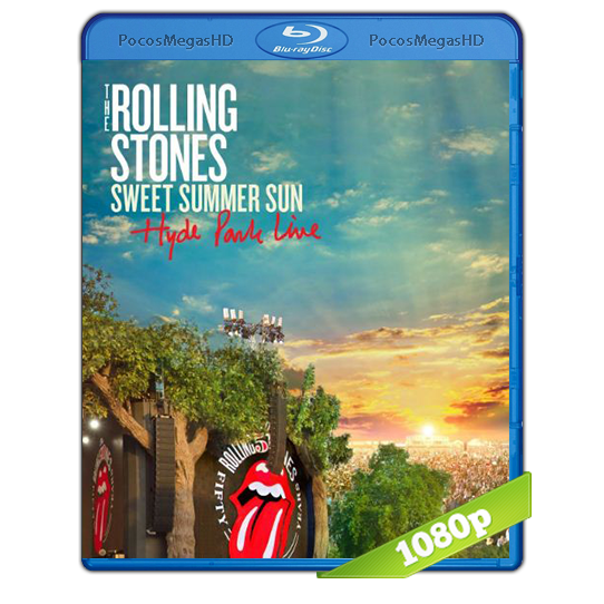 The Rolling Stones 'Sweet Summer Sun: Hyde Park Live'(2013)BRRip 1080p Audio Ingles AC3 5.1