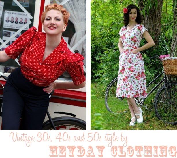 Tuppence Ha'penny: {Sponsor Spotlight} Heyday! Vintage Style Clothing