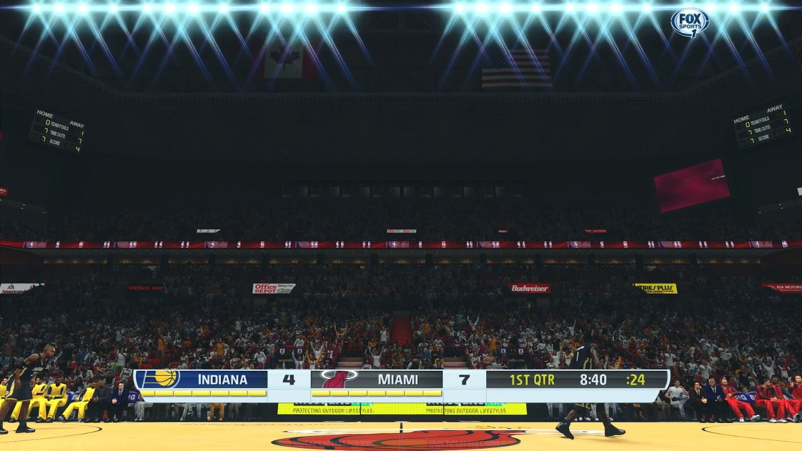 NBA 2K14 Stadium Breath Graphics Mod
