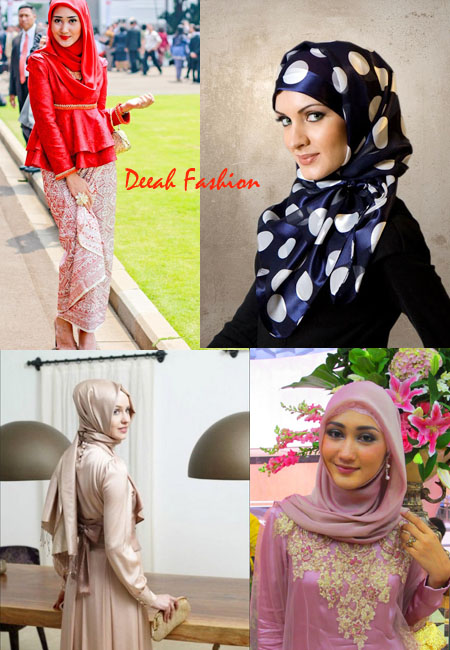 Jilbab Modis Untuk Ke Pesta