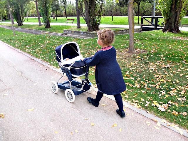 Carrito muñecos Inglesina de Smoby - Toytester - Blog infantil Mama de Noa