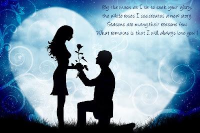 Une déclaration d'amour