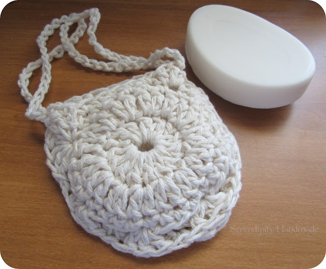 Spa Necessities Exfoliator / Scrubber at Serendipity Handmade