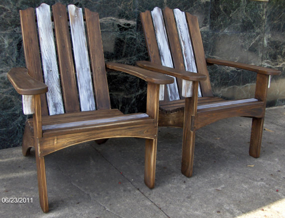 Originally Designed Adirondack Style Chairs 165 Per Chair Made With Cypress Stainless Steel Hardware