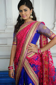 Sri Mukhi Gorgeous Half saree Photos-thumbnail-15