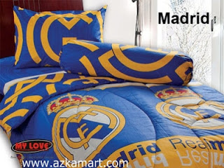 Sprei My Love Real Madrid