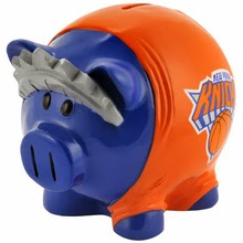 New York Knicks NBA Piggy Bank