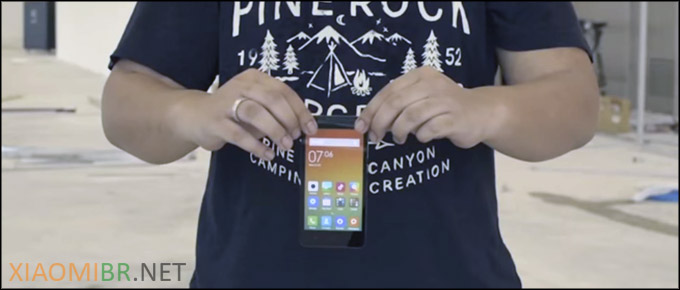 Xiaomi Redmi 2 Teste de resistência e Unboxing