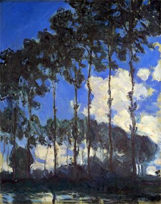 Claude Monet - Les peupliers au bord de l'Epte,1891