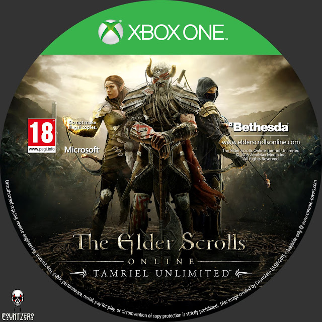 Label The Elder Scrolls Online Tamriel Unlimited Xbox One