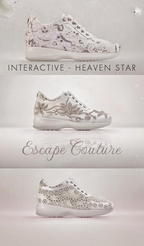 sposa, sneakers, nuova collezione, hogan