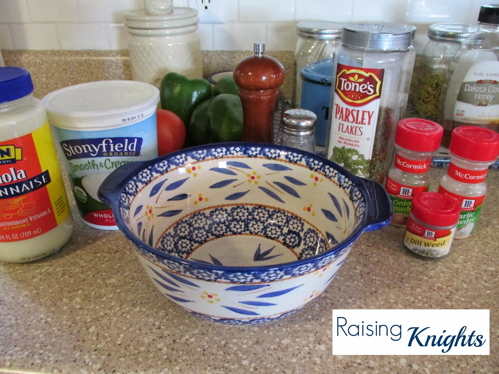 how to make ranch dressing with yogurt