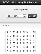 lotto picks generator