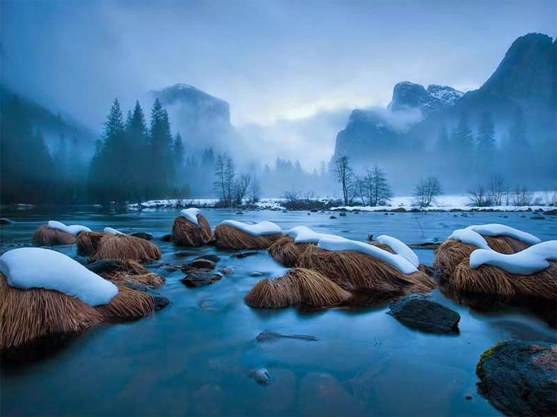 Merced River, Parque Nacional de Yosemite
