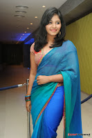 actress anjali hot saree photos at masala telugu movie audio launch+(5) Anjali Saree Photos at Masala Audio Launch