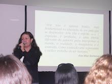 Palestra da educadora Alessandra Mourão no Enedu - Hotel Mirador - RJ