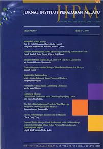 Jurnal Peradaban Melayu Keluaran IV, 2006
