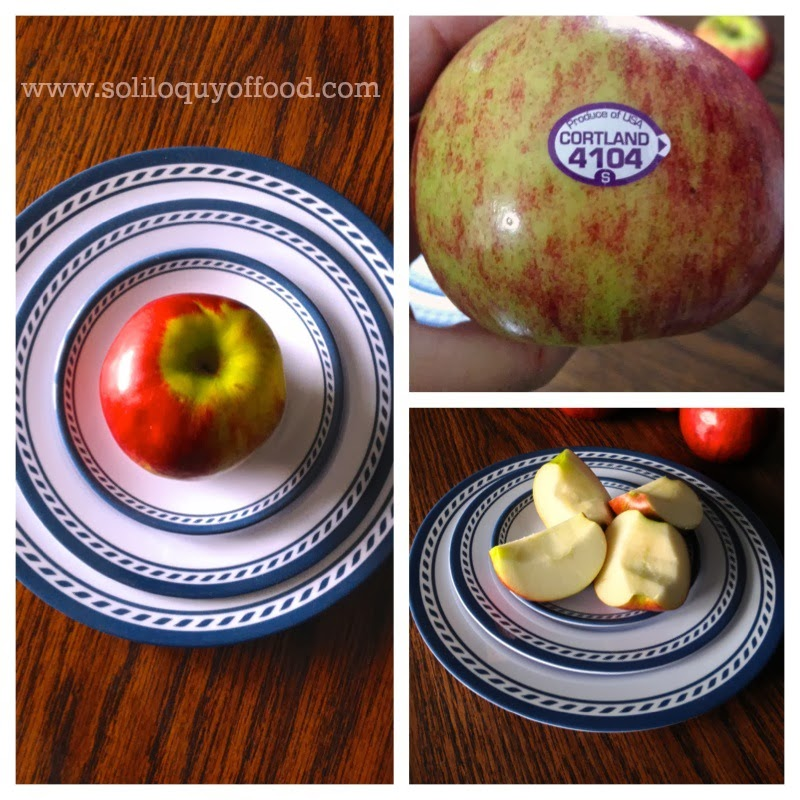 Sunbutter Apple Sailboats - use your favorite apple variety - www.soliloquyoffood.com