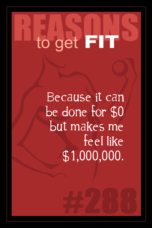365 Reasons to Get Fit #288