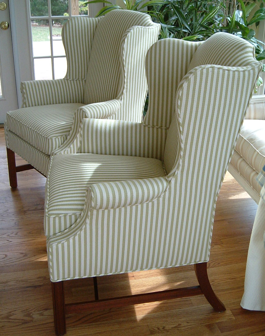 Wydeven Designs: My Love Affair with Wingback Chairs!