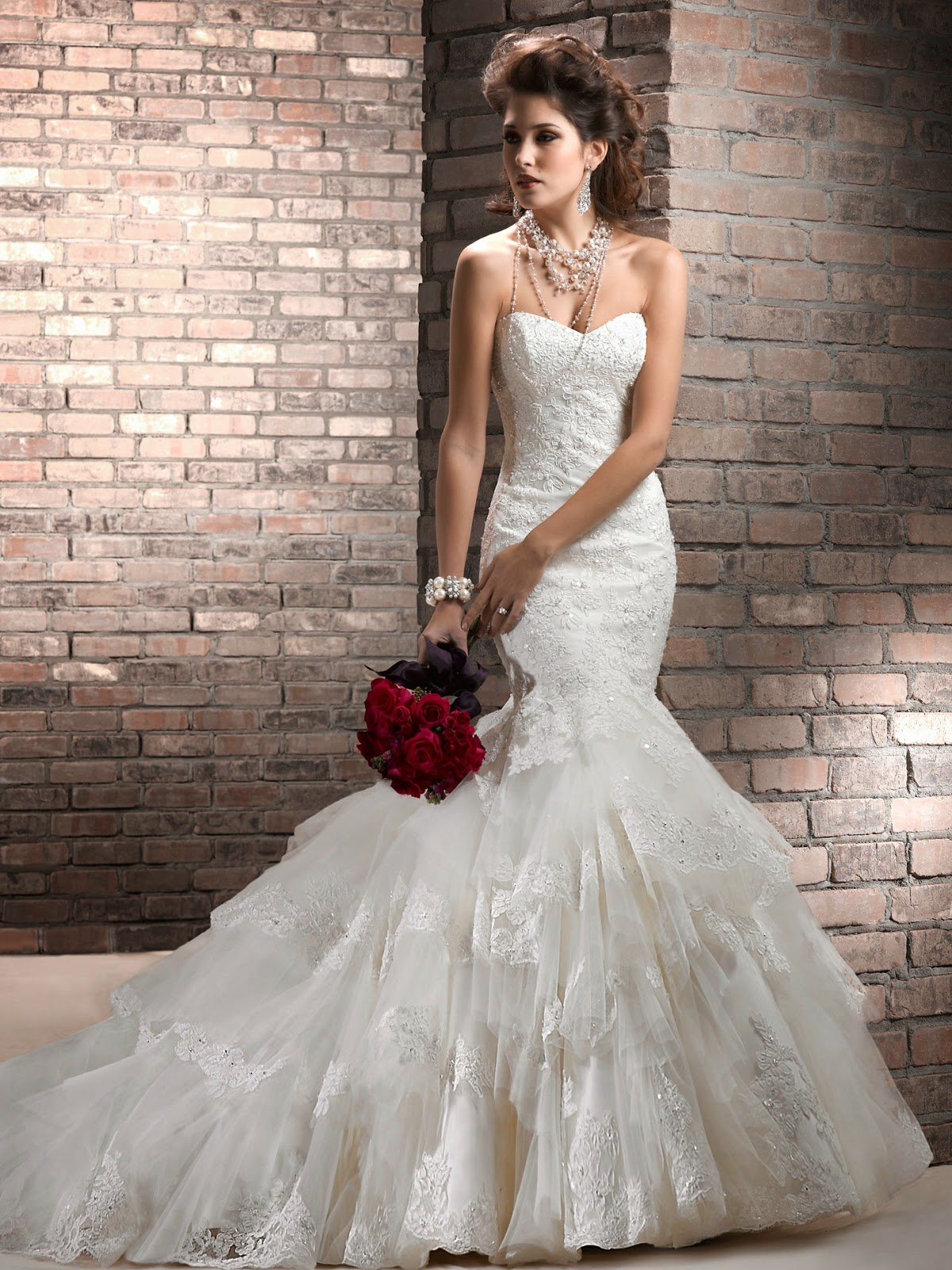 Trumpet style wedding dresses unique wedding ideas trumpet style wedding dresses junglespirit Image collections