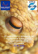 IV CAMPEONATO REGIONAL DE FOTOGRAFIA SUBAQUATICA CONTINENTE 2016